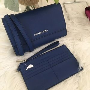 Michael Kors Large Jet set 3 in 1 crossbody bag